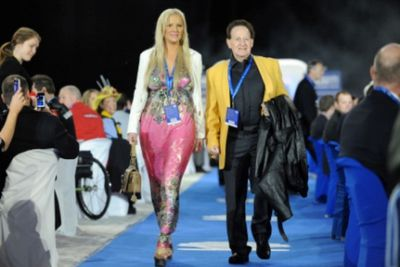 Rumours circulated in 2012 that My Bedazzled Life would be used for a 'scripted divorce' between the Edelstens. But the couple released a statement, saying they'd been through a difficult time, but their marriage was still a happy one.