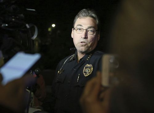 Tallahassee Police Chief Michael DeLeo told reporters that there is no immediate threat to the public outside of the individual shooting incident.