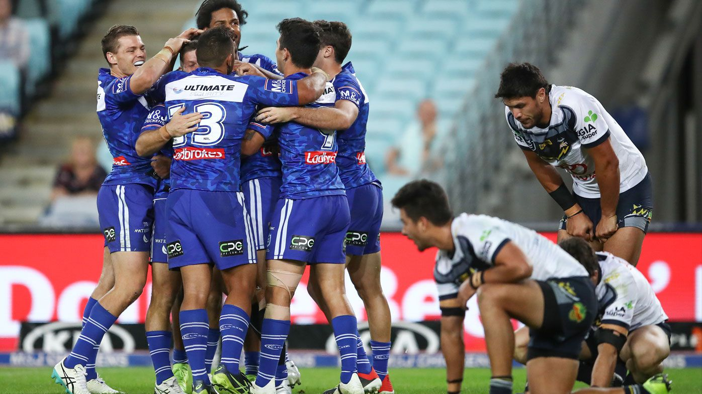 NRL: Bulldogs march to comeback over North Queensland as Corey Harawira-Naera stars