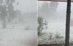 Severe storms lash Queensland and New South Wales for second day