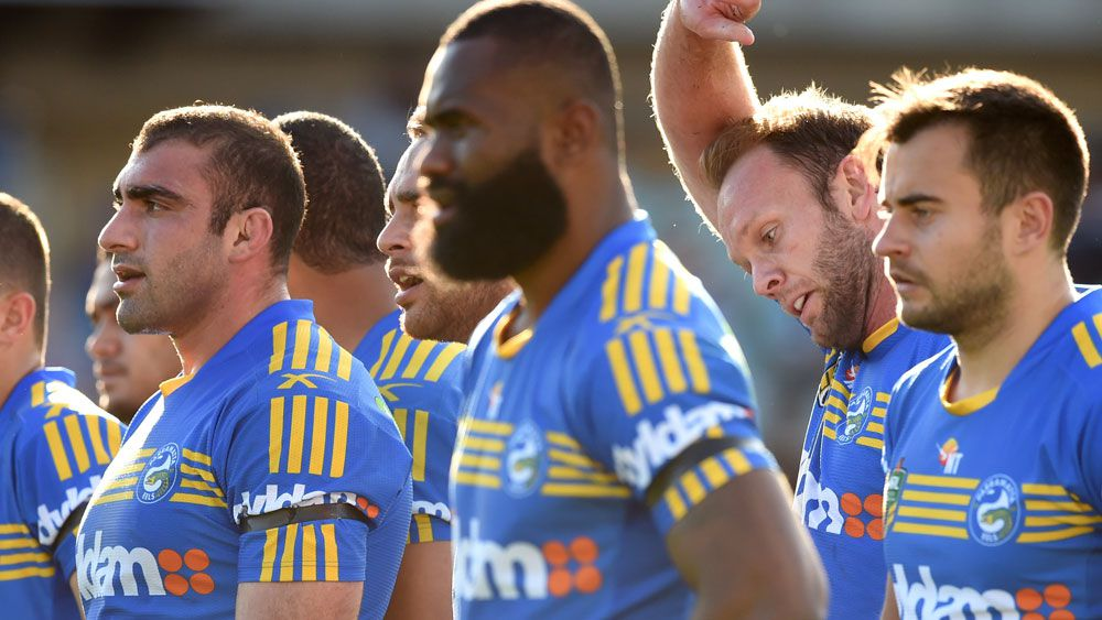 The Eels face the loss of four competition points. (AAP)