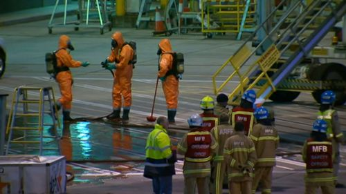 AFP investigating 'white powder' found on board Qantas aircraft in Melbourne