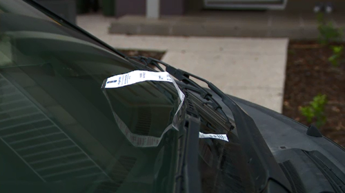 The council said it had received complaints about improper parking.