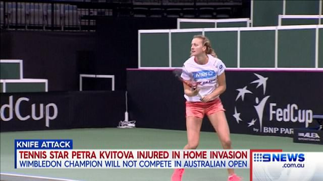 Kvitova's career in doubt after knife attack
