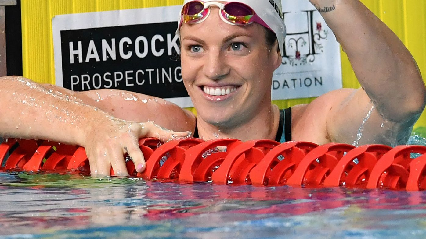 Seebohm can't swim straight at Games pool