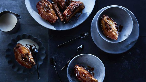 Mark Best's roast quince and custard