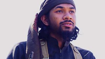 Recruiter Neil Prakash features in an Islamic State propaganda video. Prakash is currently being held in a Turkish prison and could go free after Australia's request for his extradition was rejected.