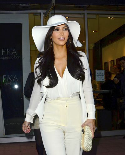 Kim Kardashian in New York City, October 2011