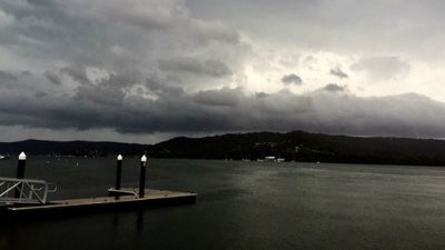 The storm clouds roll in. (Loagan Smith)
