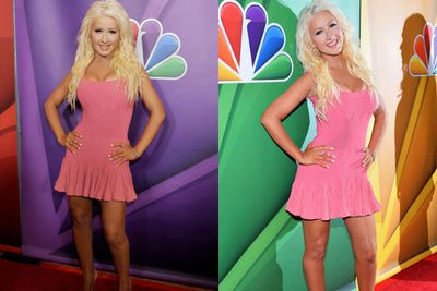 Talk about a significant weight loss!<br/><br/>At the NBC Summer Press tour while on hiatus from <i>The Voice</i>, the singer showcased her toned bod in a tiny pink-mini. It's confirmed by her trainer Tee Sorge that she dropped the kg's with a 1600-calorie a day diet and lots of yoga.  <br/>