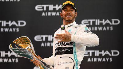 No. 13 - Lewis Hamilton