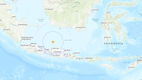 An earthquake has hit Indonesia.