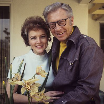 Betty White, life in pics, husband, Allen Ludden