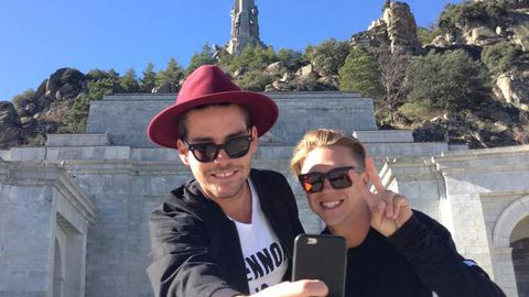 Bromance and Bloody Marys! Big Brother's Ryan Ginns and flatmate Nathan Jolliffe's Euro trip secrets