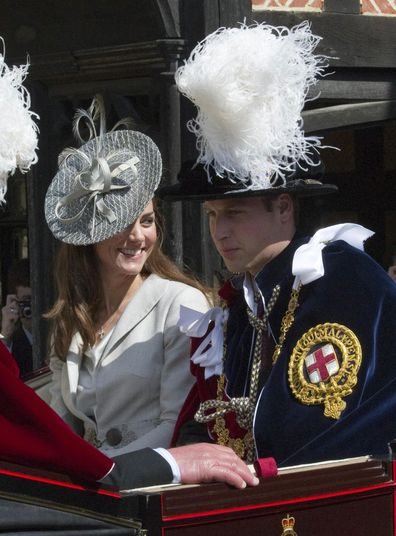 Kate Middleton attends Garter Day with Prince William