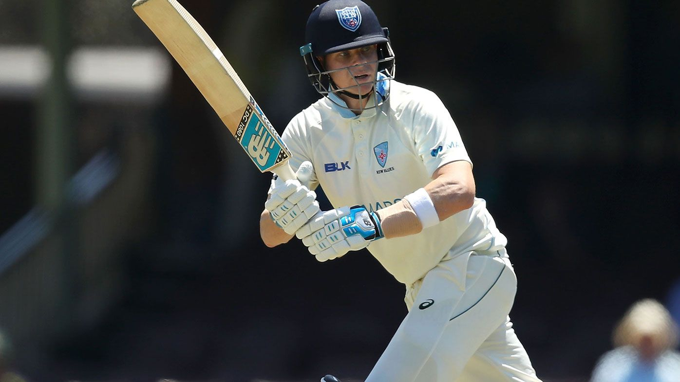 Steve Smith distraught after freaky dismissal in Sheffield Shield game