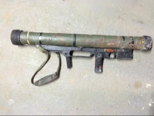 A rocket launcher was handed in in Queensland (National Firearms Amnesty 2017 Report)