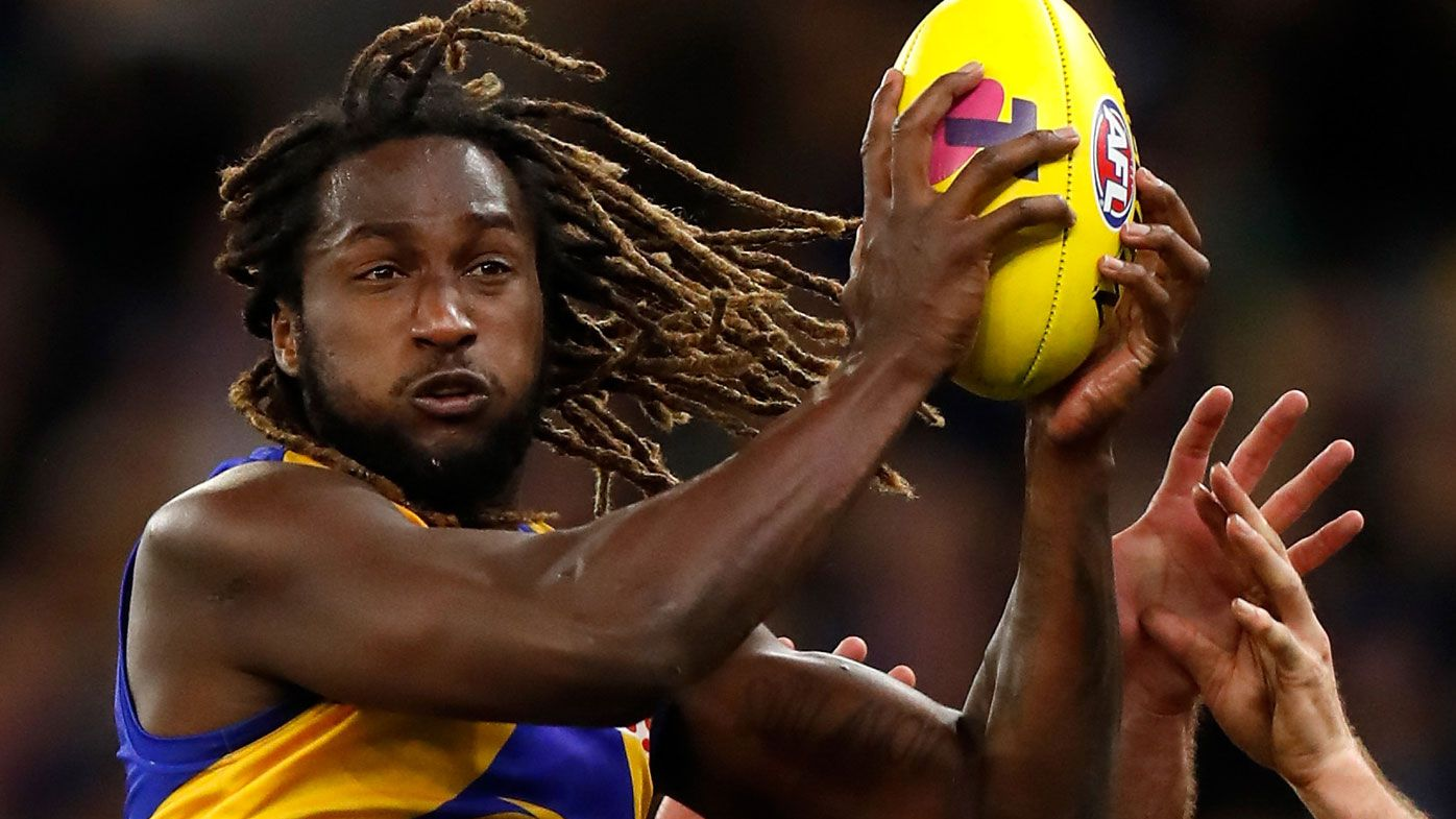 West Coast Eagles Nic Naitanui reveals racial abuse frequency