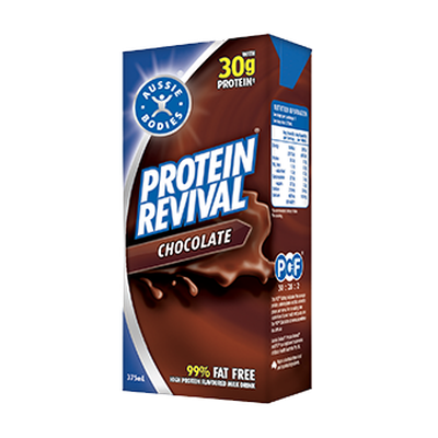 <strong>375ml Aussie Bodies Protein Revival (30.8 grams of sugar)</strong>