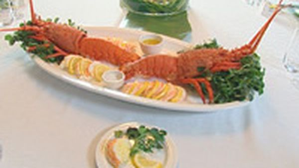Celebration lobster with vanilla butter