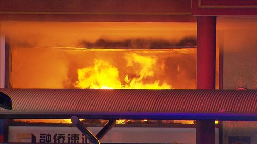 The fire has left a two-million-dollar damage bill. (9NEWS)