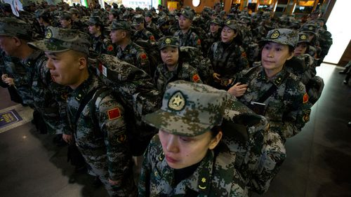 Team of 160 Chinese health workers arrive in Liberia to fight Ebola