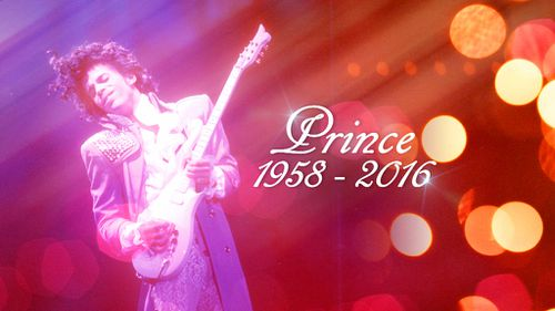Pop icon Prince has died aged 57. (AAP)