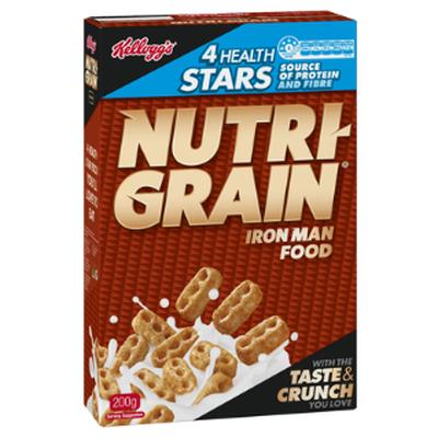 <strong>Nutri-Grain (5.1 grams of fibre per 100 grams)</strong>