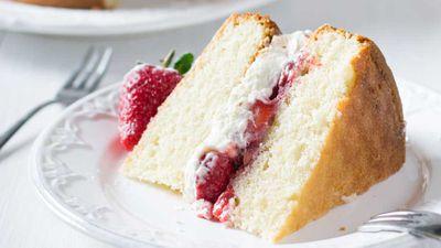 "Recipe: <a href=""http://kitchen.nine.com.au/2017/08/22/15/41/csr-classic-sponge-cake"" target=""_top"">CSR Sugar sponge cake</a>"
