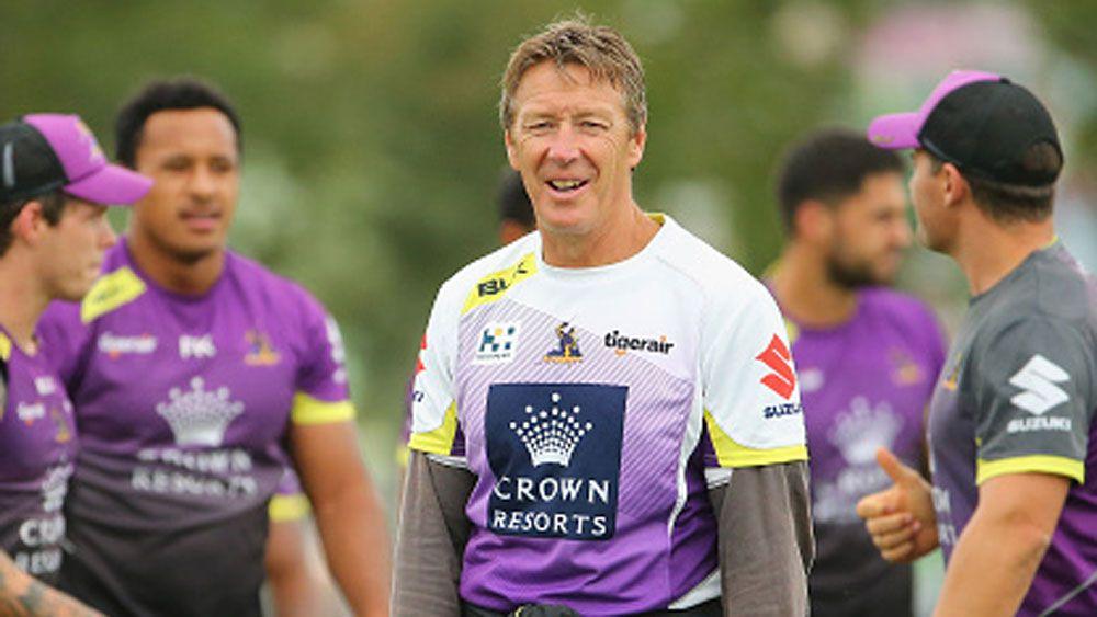 Melbourne Storm coach Craig Bellamy. (Getty)