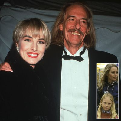 <p>Wilson Phillips' Chynna Phillips and John Phillips and Michelle Phillips</p>