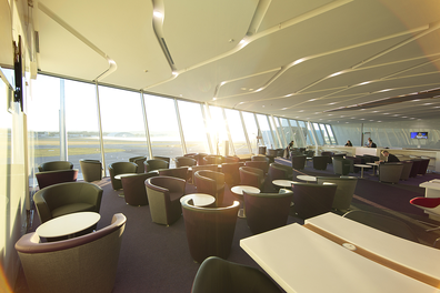 Virgin Australia Canberra lounge