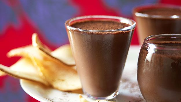 Chocolate love pots