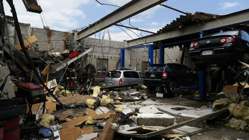 'Modest' tornado causes massive destruction near Boston