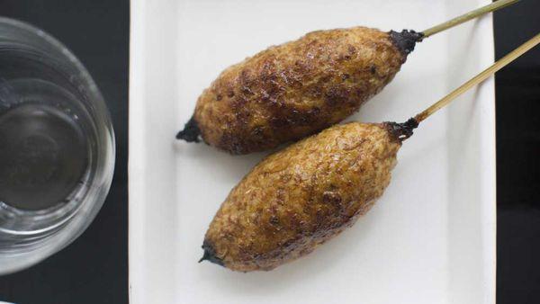 Yardbird chicken skewers