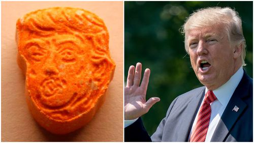 'Trump' ecstasy pills seized by police in Indiana