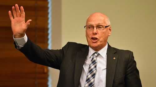 Prime Minister Malcolm Turnbull has defended new senator Jim Molan in the wake of racism claims (AAP Image/Mick Tsikas).