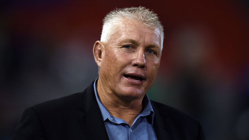 Fromer Knight's coach Rick Stone defends the Knights' actions in protecting James McManus.