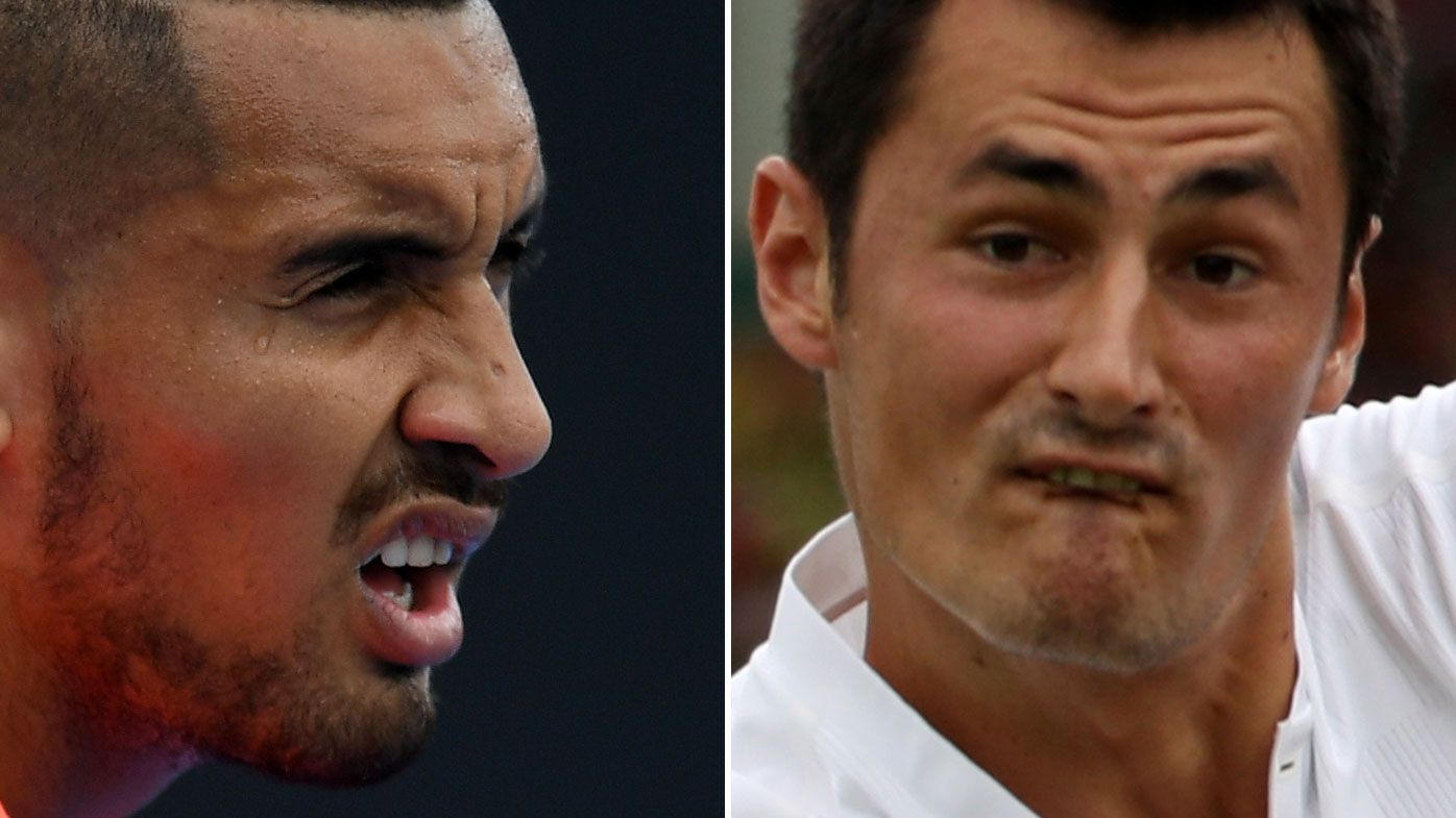 Tomic and Kyrgios to clash at French Open