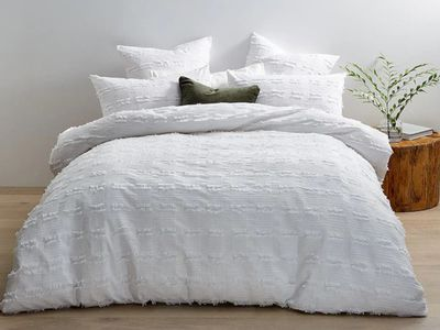 Carye Textured Quilt Cover Set — Target