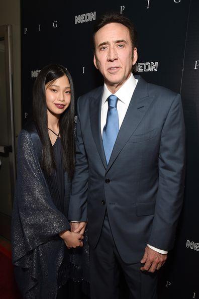Riko Shibata, Nicolas Cage