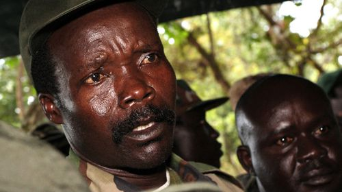 A photo of Joseph Kony in November 2006.