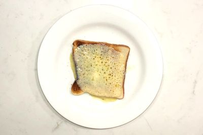 Light cheese on toast: 169 calories