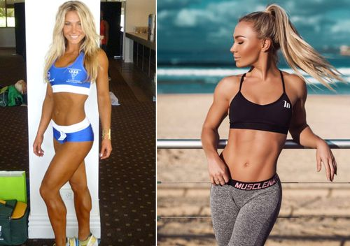 """I'm a really big believer that to truly transform yourself it actually starts from the inside out,"" Sydney fitness model Hattie Boydle told nine.com.au"