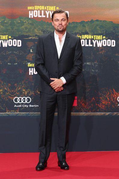 Leonardo DiCaprio, premiere, movie
