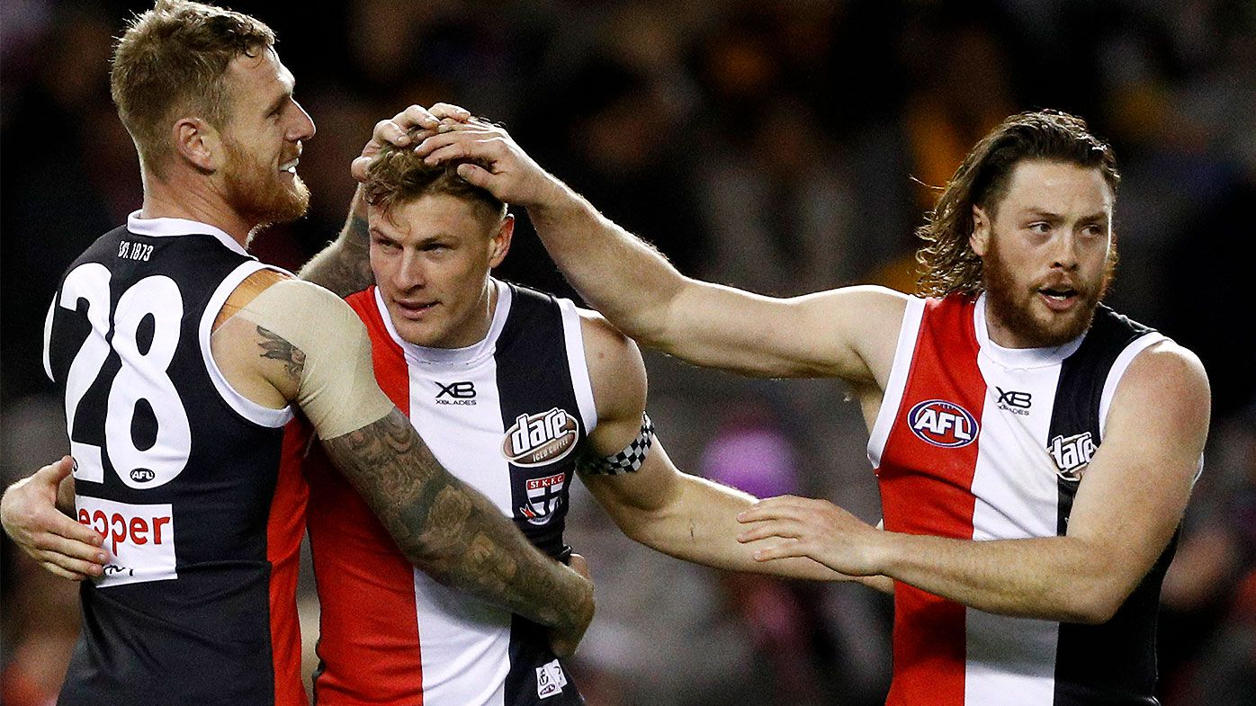 Geelong reportedly set to launch renewed bid for St Kilda star Jack Steven