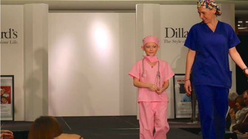 US kids battling cancer dress for their dream jobs in fashion parade