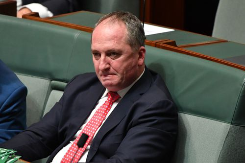 Barnaby Joyce's brother Tim died of terminal cancer at Royal North Shore Hospital in Sydney at the weekend. Picture: AAP