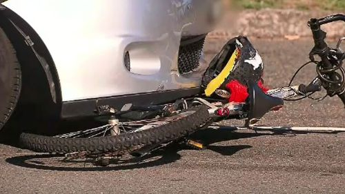 Paramedics say the boy's helmet helped prevent more serious injuries (9NEWS)