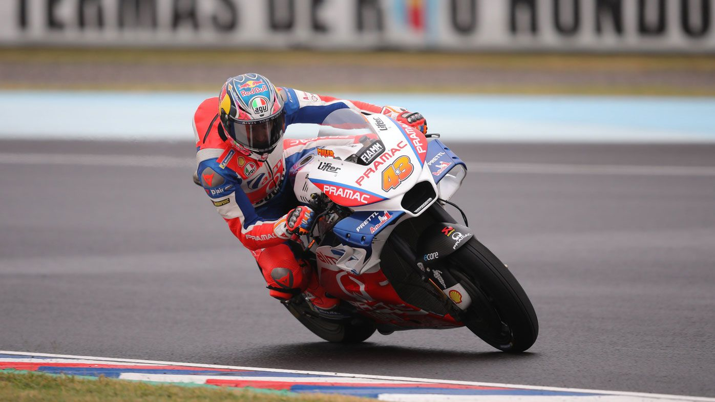 Australian Jack Miller grabs Argentine MotoGP pole after high-risk tyre gamble pays off